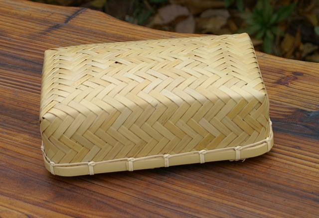 アジロ編み弁当箱